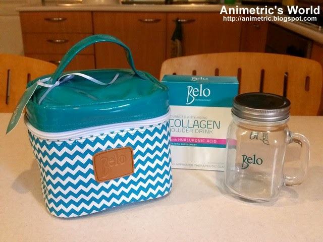 Belo Collagen Powder Drink Review