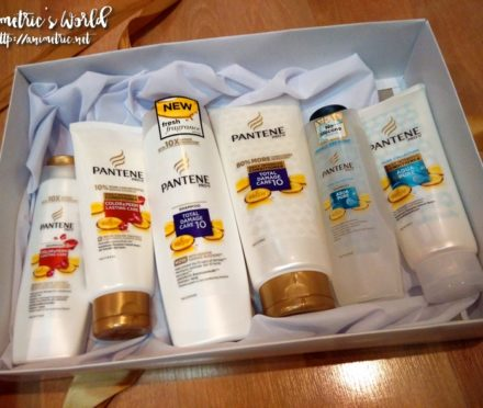 Pantene Aqua Pure Shampoo and Conditioner