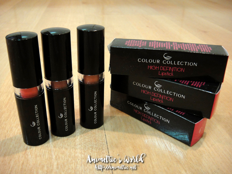 Colour Collection High Definition Lipstick