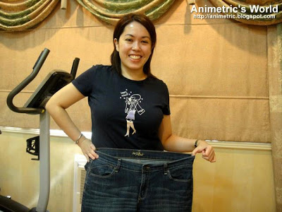 Animetric's old jeans
