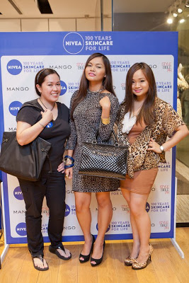 Nivea and Mango Glam Board Express Launch