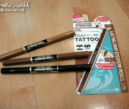 K-Palette 2 Way Eyebrow Pencil