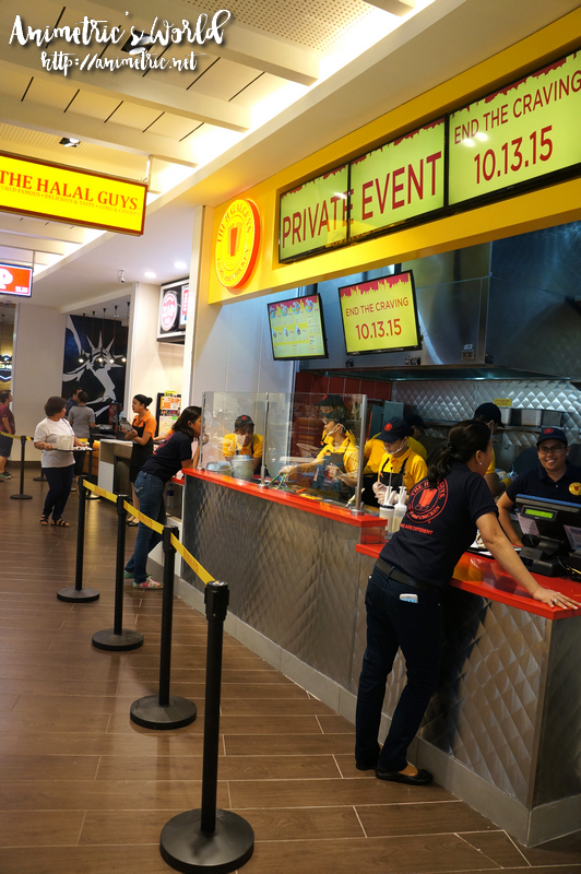 The Halal Guys SM Megamall