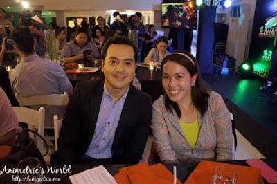 Animetric and John Lloyd Cruz