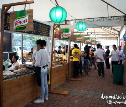 Knorr Lutong Nanay Food Fair