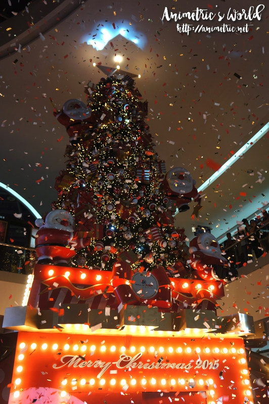 SM Mall of Asia Merry Wonderland