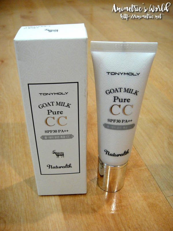 Tonymoly Naturalth Goat Milk Pure CC