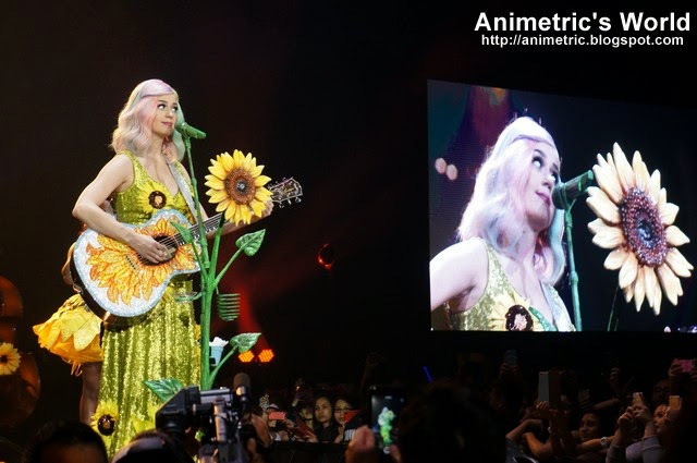Katy Perry Prismatic World Tour Manila