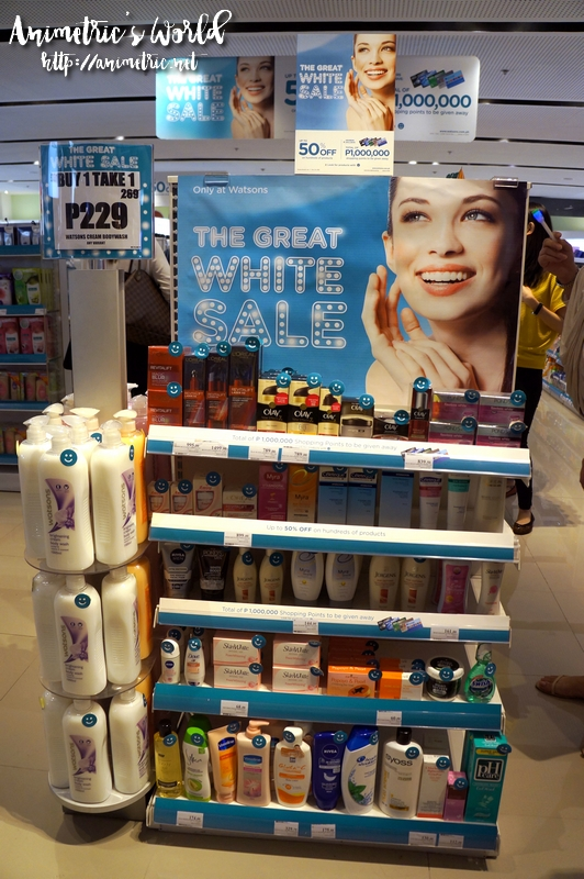 Watsons Great White Sale