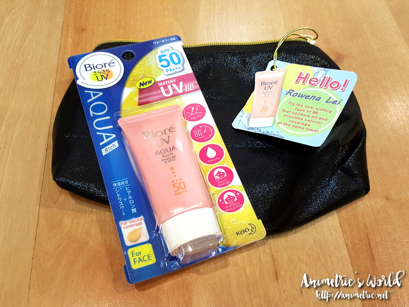 Biore UV Aqua BB Cream Review