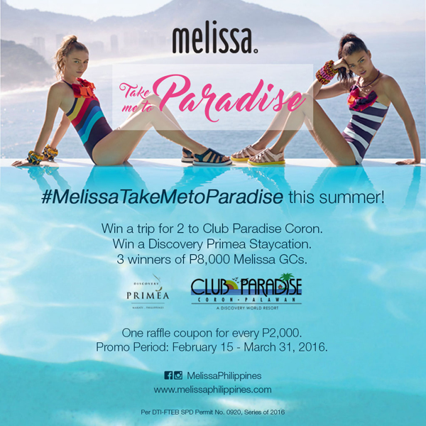Melissa Take Me To Paradise