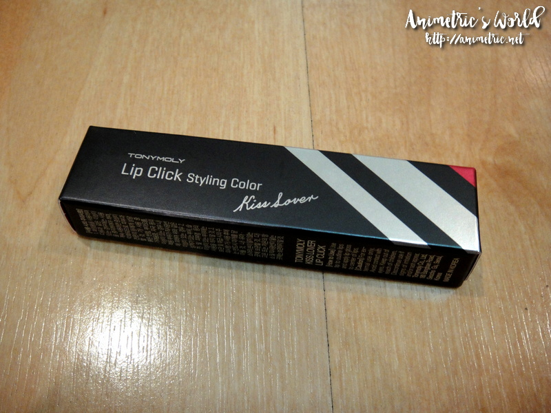 Tonymoly Lip Click Styling Color Lipstick