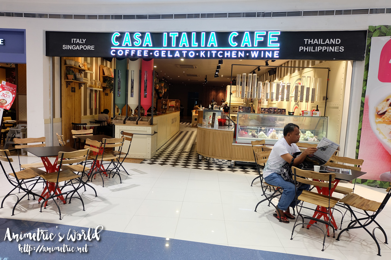 Casa Italia Cafe SM North EDSA