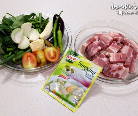 Knorr Sinigang na Liempo