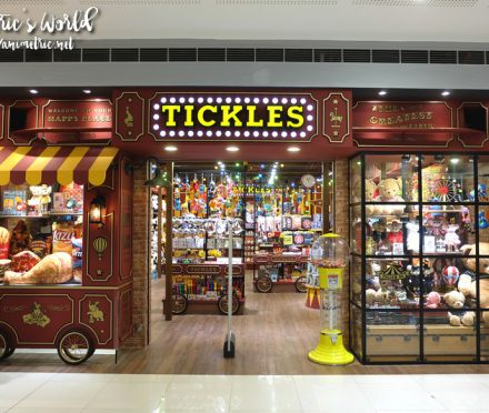 Tickles SM Megamall