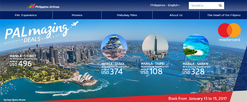 PAL Promotional Fare