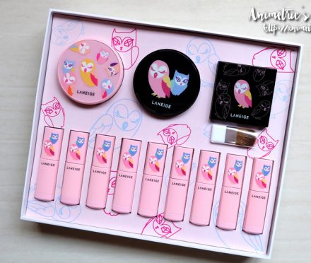 Laneige x Lucky Chouette Makeup Collection