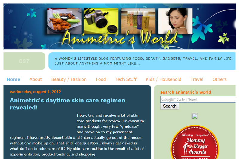 Animetric on Blogspot