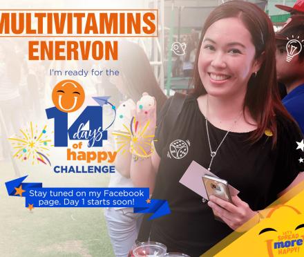 Enervon 14 Day Challenge