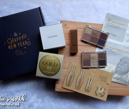 Althea Gold Sparkling Box