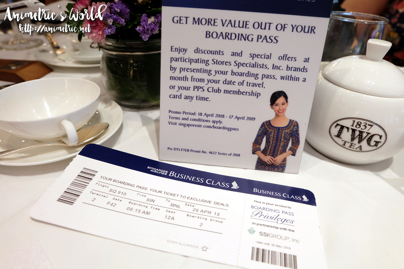 Singapore Airlines Boarding Pass Privileges