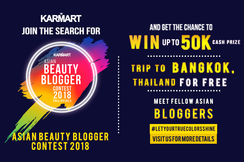 Karmart Beauty Blogger Contest 2018