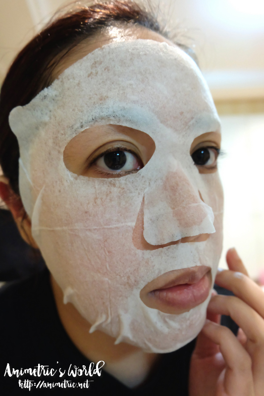 Kracie Hadabisei All In One Face Mask Fine Skin