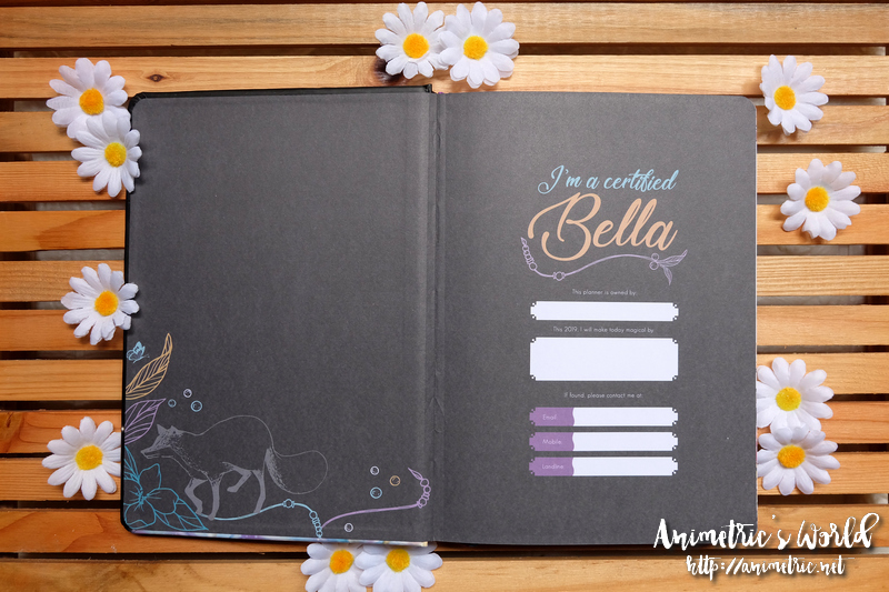 2019 Belle De Jour Power Planner