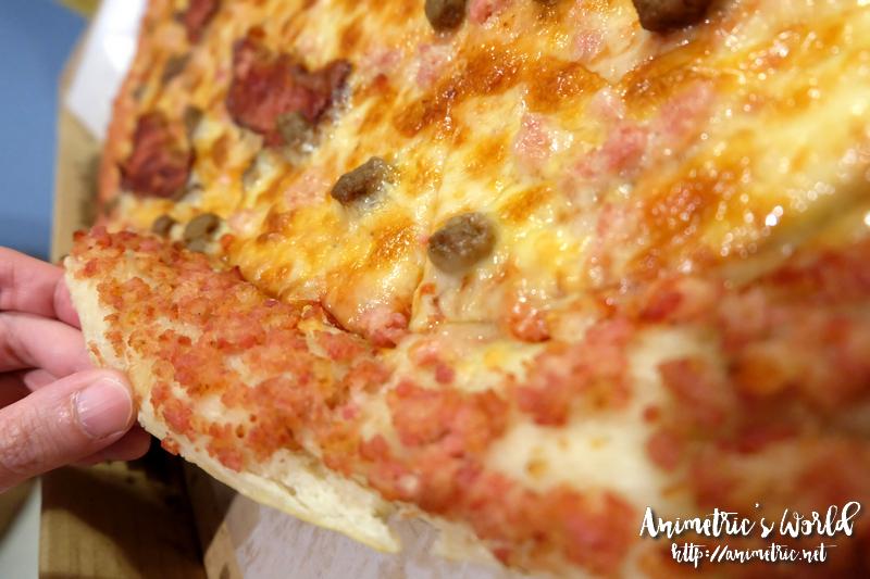 Big Bad Bacon Burger Pizza
