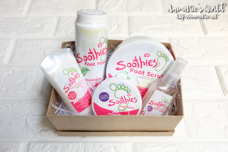 Soothies Foot Care Products
