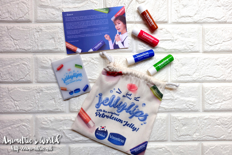 Vaseline Lip Therapy Balm Stick Review - Animetric's World