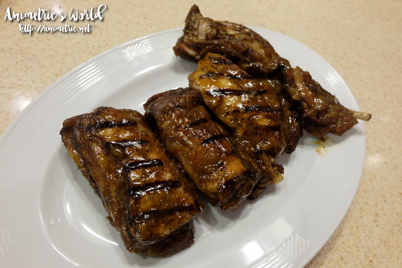 Racks Honey Dijon Pork Rib Platter