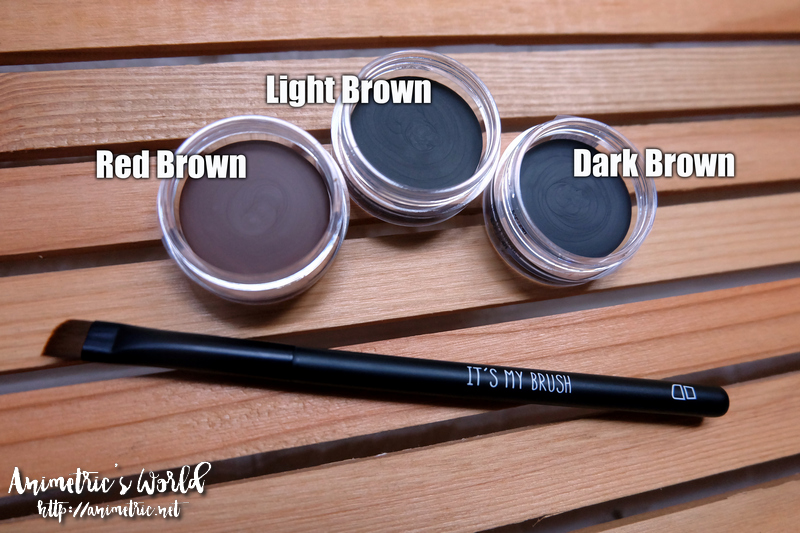 Project Vanity x Ellana Lifeproof Eyebrow Gel