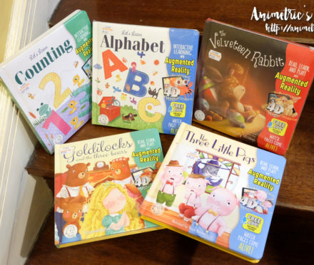 Little Hippo Augmented Reality Books