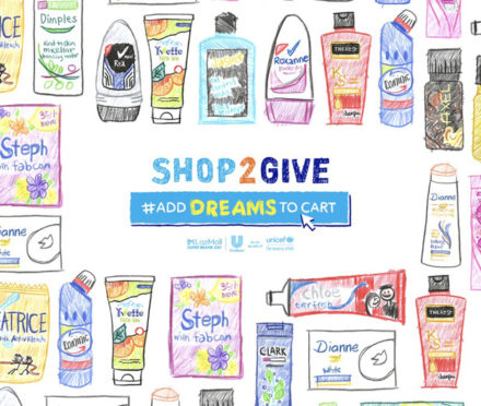 Unilever x Lazada Shop2Give