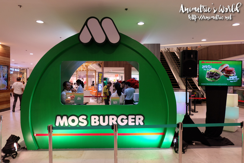 Mos Burger Pop Up Store