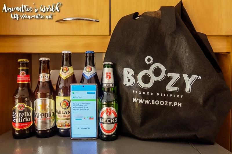 Boozy PH x PayMaya
