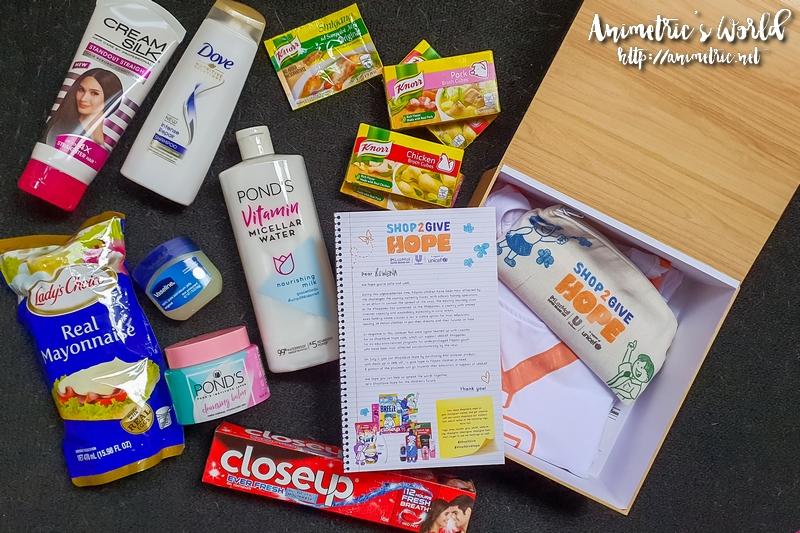 Unilever Shop2Give Hope Lazada